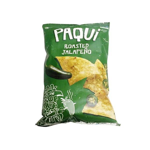 Paqui Roasted Jalapeno Tortilla Chips