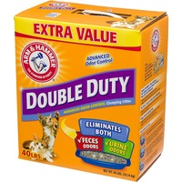 Arm & Hammer Double Duty Advanced Dual Odor Control Clumping Cat Litter