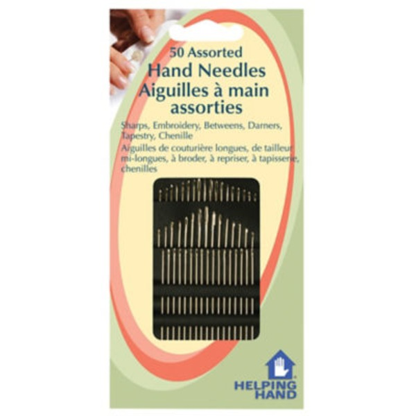 Helping Hand 50 Assorted Hand Needles