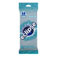 Eclipse Sugarfree Gum Polar Ice - 54 Pieces