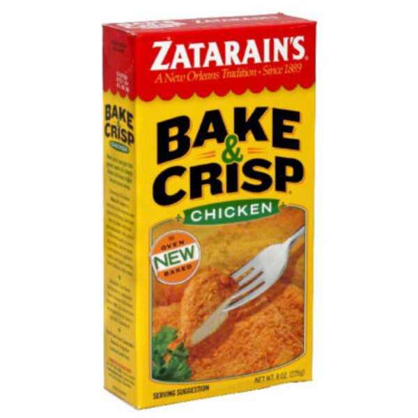 Zatarain's Bake & Crisp Chicken Breading Mix