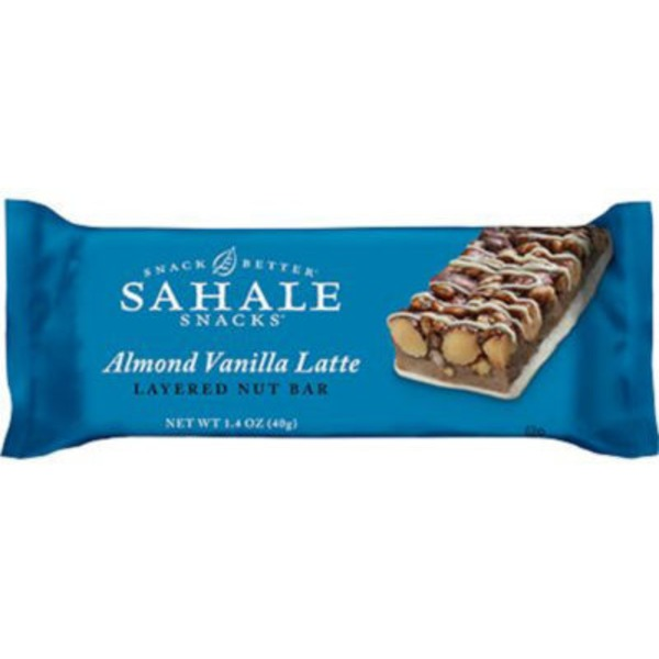 Sahale Snacks Almond Vanilla Latte Layered Nut Bar