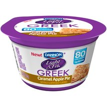 Dannon Light & Fit Carmel Appe Pie Greek Yogurt