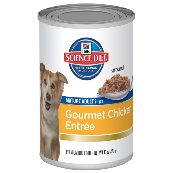 Hill's Science Diet Dog Food, Mature Adult, Savory Chicken Entree
