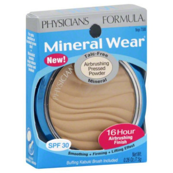 Mineral Wear™ 7588 Beige Talc-Free Mineral SPF 30 Airbrushing Pressed Powder