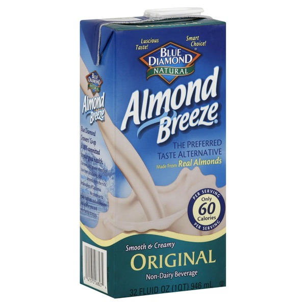 Almond Breeze Original Almond Milk Non Dairy Milk Alternative