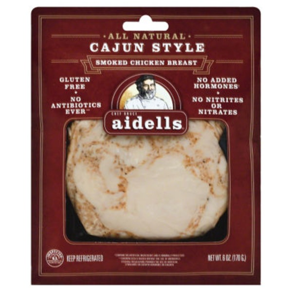 Aidells All Natural Smoked Chicken Breast Cajun Style