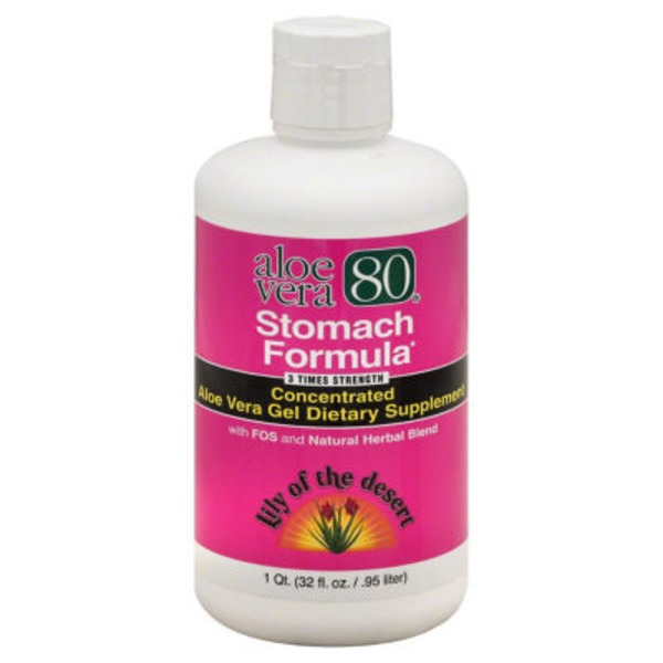 Lily of the Desert Aloe Vera Gel Dietary Supplement Stomach Formula