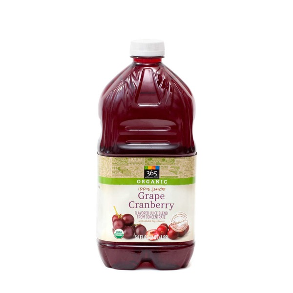 365 Cranberry Grape Organic Juice