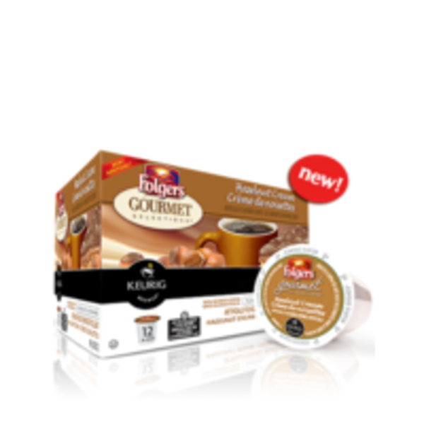 Folgers Hazelnut Cream Coffee K-Cup Packs