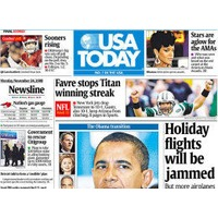 USA Today Friday Newspaper