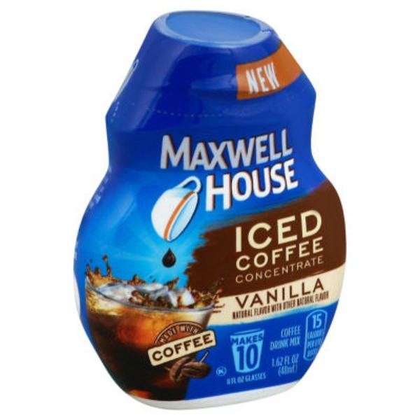 Maxwell House Vanilla Iced Coffee Concentrate