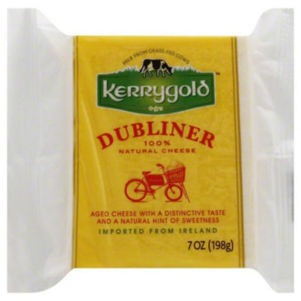 Kerrygold Dubliner Wedge Pre Cut Cheese