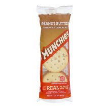 Munchies Golden Toast Sandwich Crackers Peanut Butter, 1.42 OZ