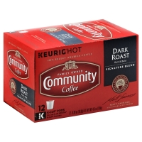 Community Coffee Dark Roast Signature Blend Single Serve Cups