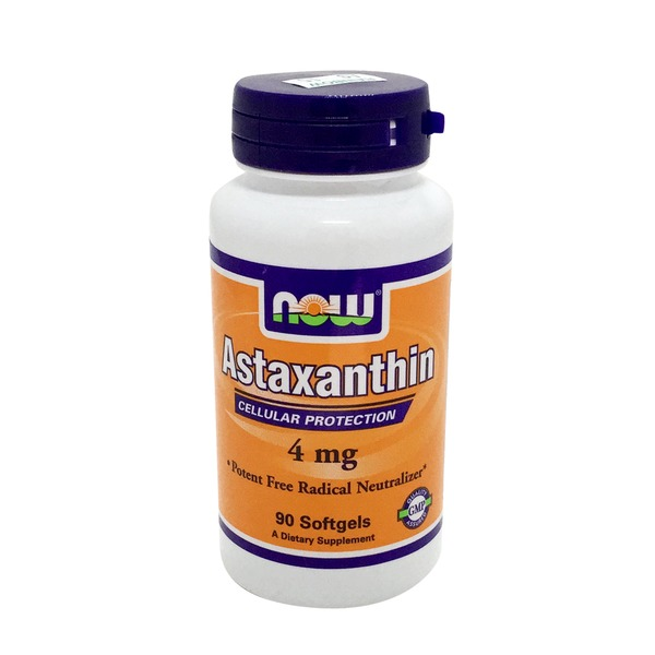 Now Astaxanthin, 4 mg, Softgels