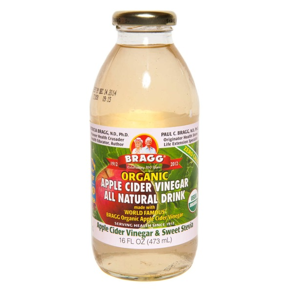 Bragg Organic Apple Cider Vinegar & Sweet Stevia All Natural Drink