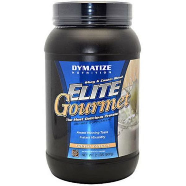 Dymatize Nutrition Elite Gourmet French Vanilla Protein Dietary Supplement