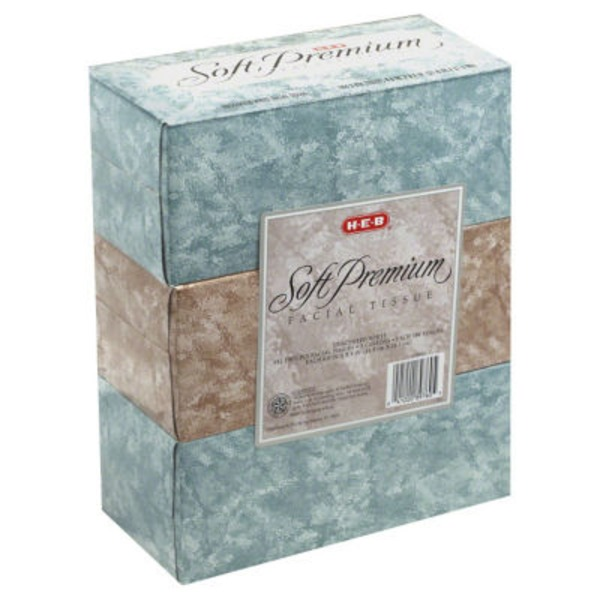 H-E-B Facial Tissues