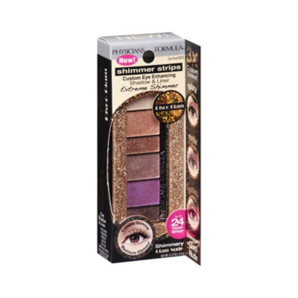 Shimmer Strips 6635 Extreme Shimmer Glam Nude Eye Shadow & Liner