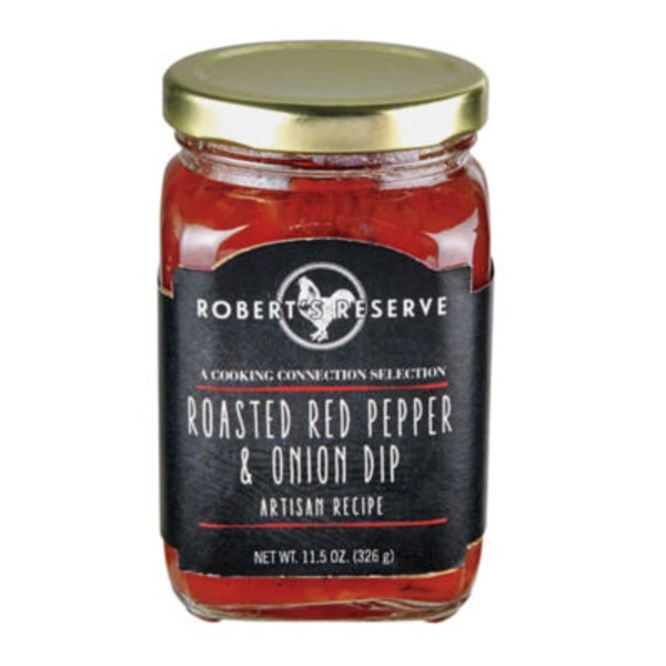 Robert's Reserve Roasted Red Pepper & Onion Dip