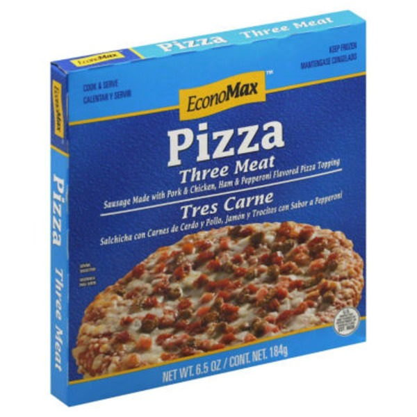 Economax Three Meat Pizza