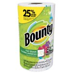 Bounty Paper Towels, Print, 1 Large Roll = 25% More Sheets