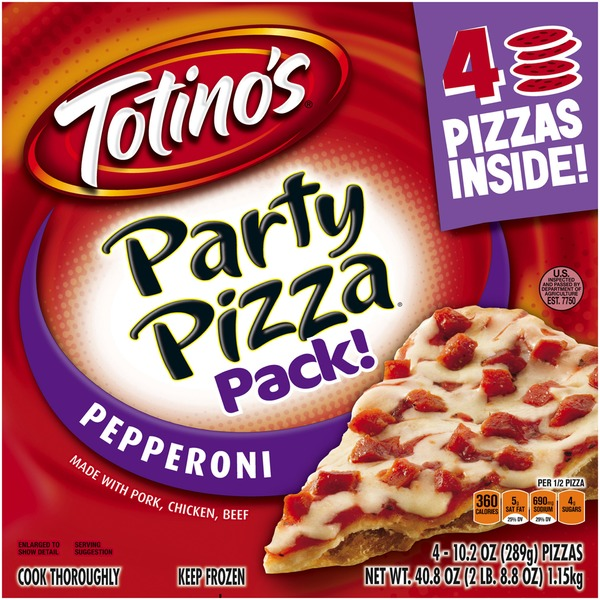 Totino's Pepperoni Party Pizzas