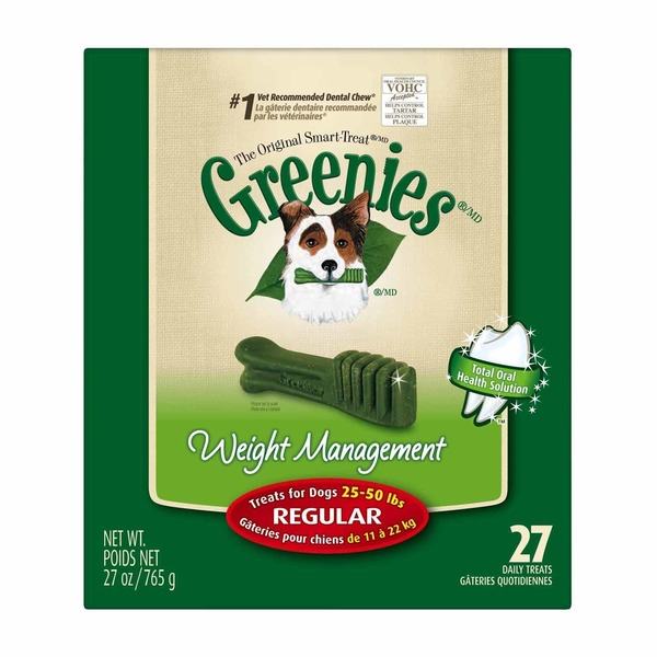 Greenies Weight Management Regular Dog Treats