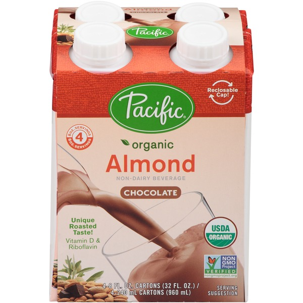 Pacific Organic Almond Chocolate Non-Dairy Beverage