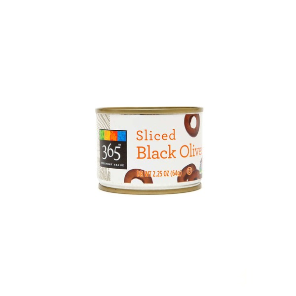 365 Sliced Black Olives