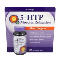 Natrol 5-HTP Mood Enhancer Tablets 100 mg