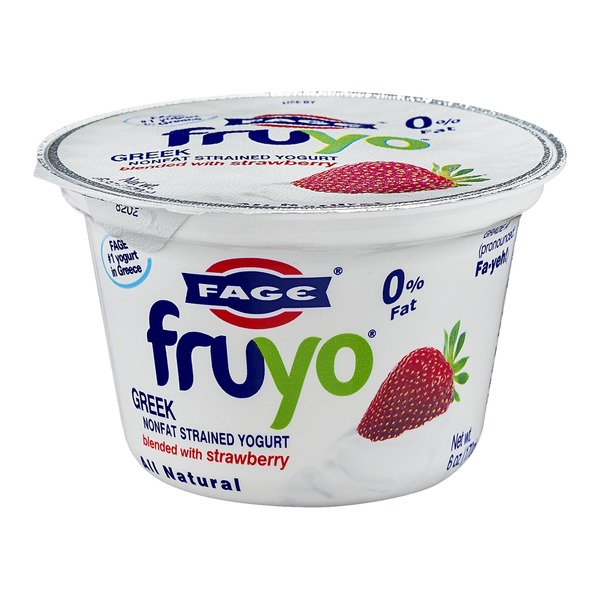 Fage Fruyo Greek Nonfat Strained Yogurt Blended with Strawberry