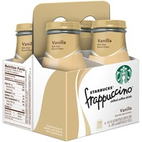 Starbucks Frappuccino Vanilla Chilled Coffee Drink Coffee Substitutes