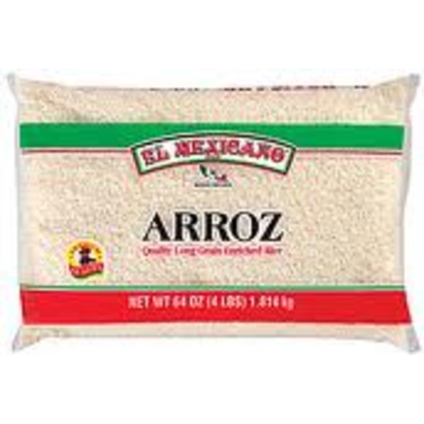 El  Mexicano Arroz Enriched Long Grain Rice