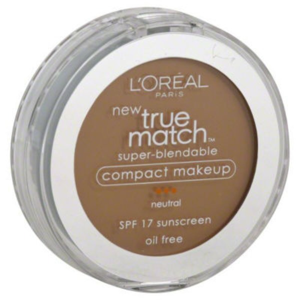 True Match Neutral Honey Beige N6 Super-Blendable Makeup Compact