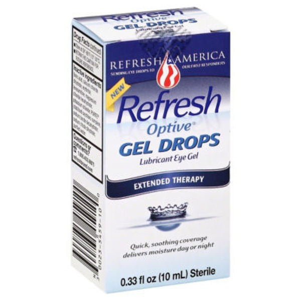 Refresh Gel Drops Lubricant Eye Gel