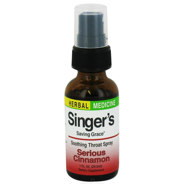 Singer's Saving Grace Serious Cinnamon Soothing Throat Spray