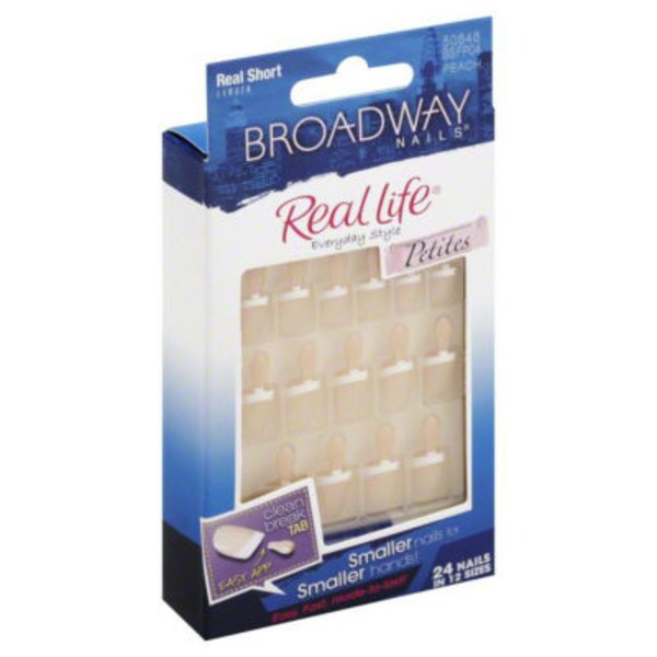 Kiss Petite Broadway Real Life Nail Kit