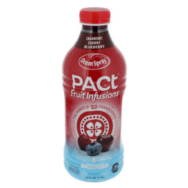 Ocean Spray Pact Fruit Infusions Cranberry Cherry Blueberry Juice Drink