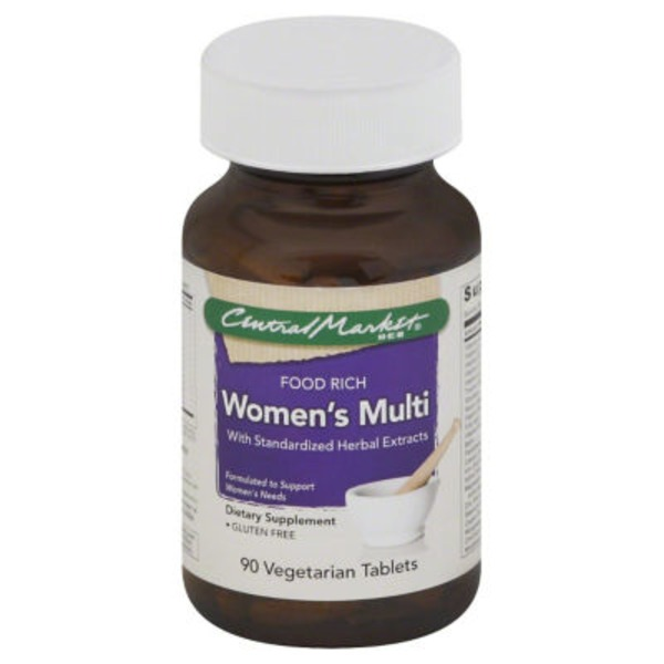 Central Market Women's Multi Vegetarian Tablets