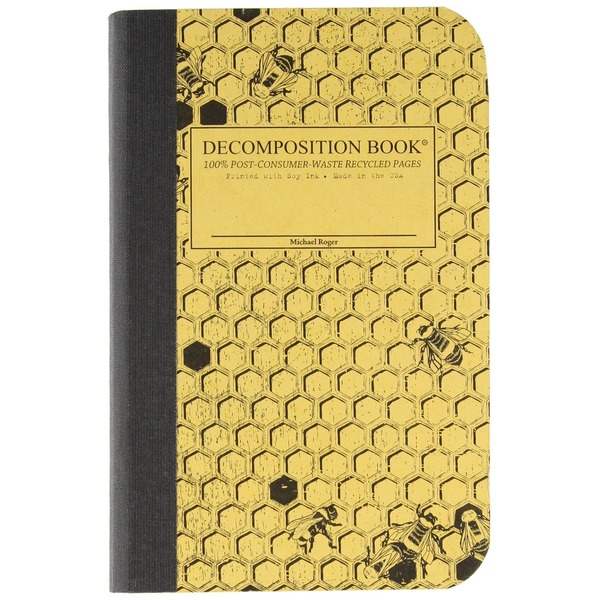 Decomposition Book Pocket Sized Honeycomb Notebook