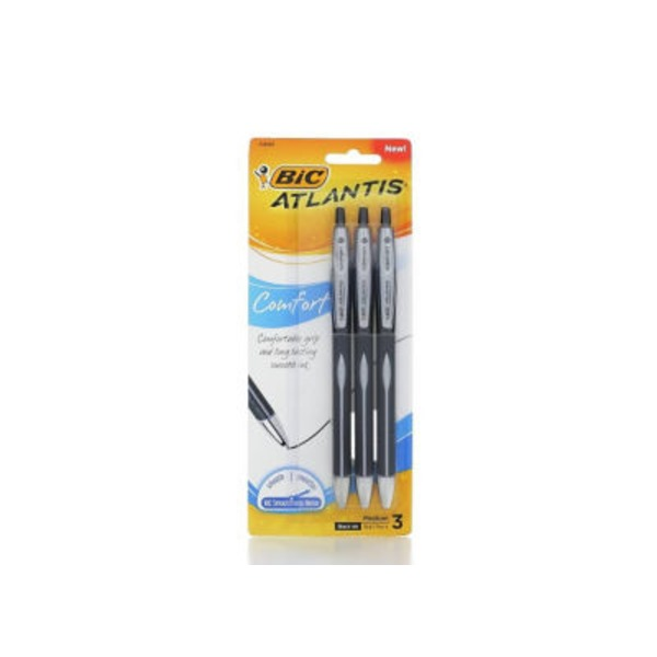 BiC Atlantis Comfort Pen Black