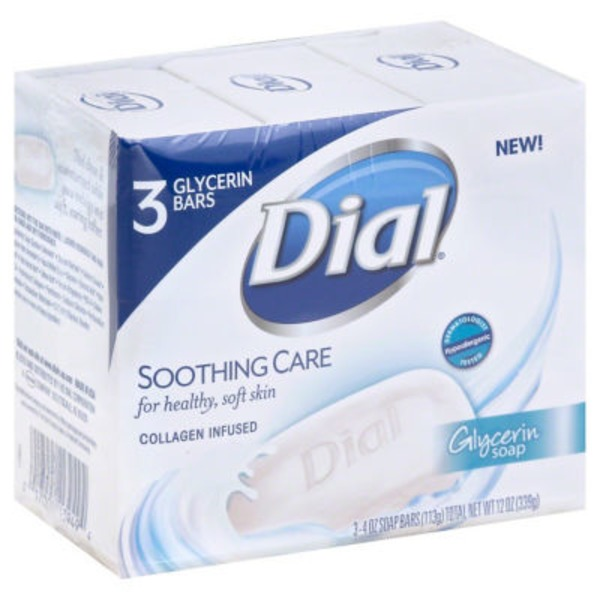 Dial Bar Soothing Care Glycerin Soap