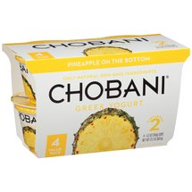 Chobani Pineapple on the Bottom Low-Fat Greek Yogurt