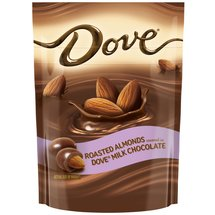 Dove Milk Chocolate Almond Candy Bag