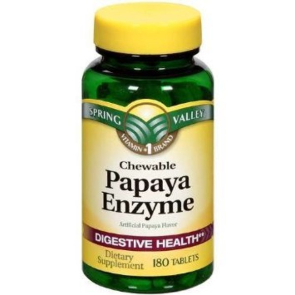 Chewable Papaya Enzyme