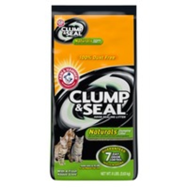 Arm & Hammer Clump & Seal Naturals Multi-Cat Odor Sealing Cat Litter