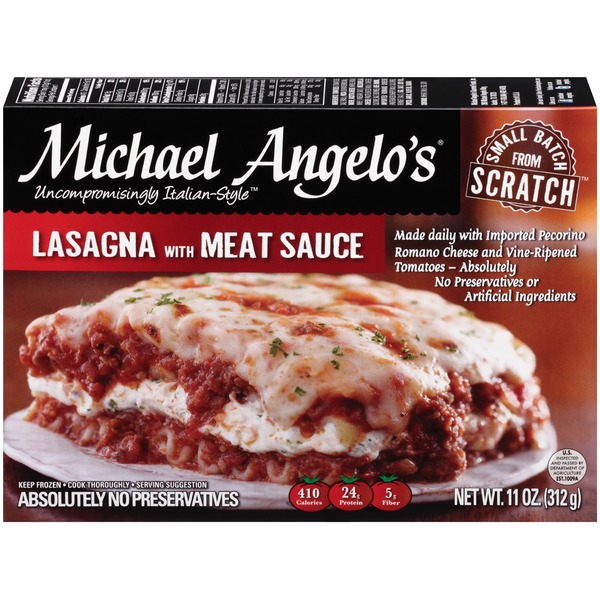 Michael Angelo's Lasagna with Meat Sauce