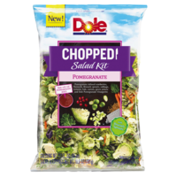 Dole Chopped Pomegranate Salad Kit